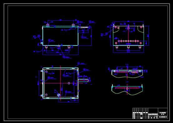 CAD软件下载图纸之箱体
