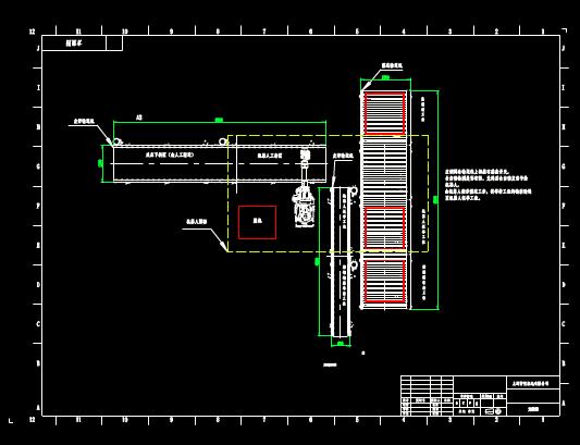 CAD机械图纸之机电方案图