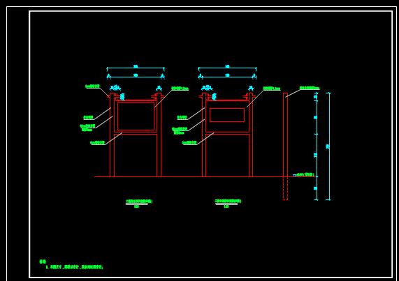 工程简介牌CAD图纸案例分享