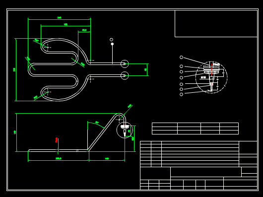 CAD软件下载图纸之零部件展示图