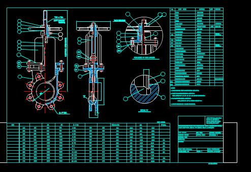 机械零部件CAD图纸之溢流阀