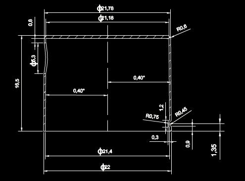 机械CAD图纸下载之电化铝