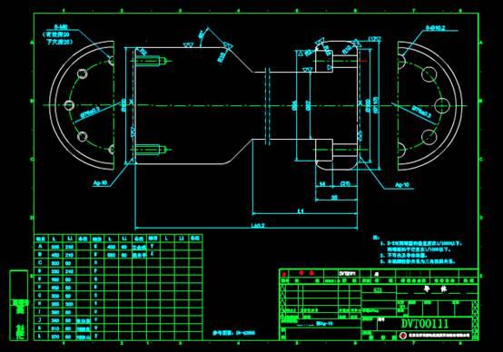 导体设计的机械CAD图纸
