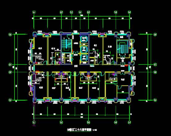 宾馆酒店的建筑设计CAD图纸