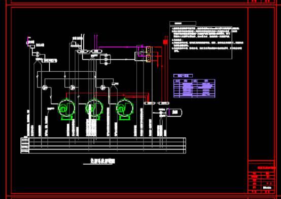 楼宇自控原理图的CAD建筑图纸下载