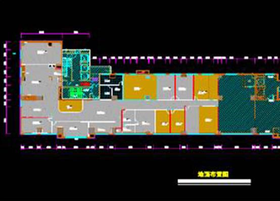 CAD建筑装饰图纸之办公区建筑设计