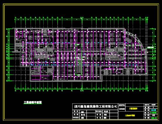 CAD建筑图纸下载之超市电气及消防竣工图