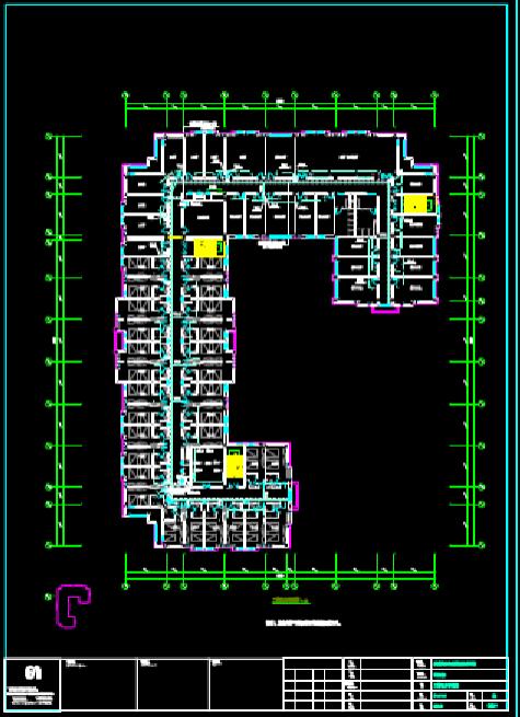 CAD建筑图纸下载之培训楼文教建筑电气