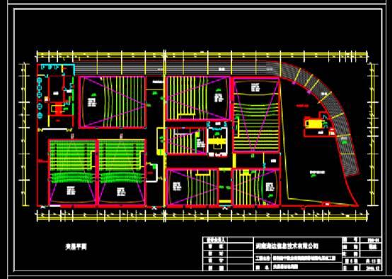 CAD建筑图纸下载之商业建筑电气竣工图纸