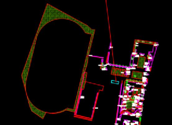 公园景观绿化的建筑CAD图纸下载