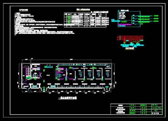 公共建筑电气平面施工的CAD下载图纸