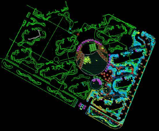 某地苗木的建筑CAD图纸下载
