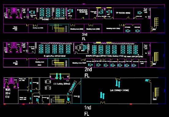某办公大楼的建筑设计CAD图纸