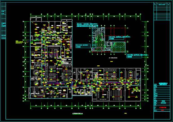 CAD快速查看建筑图中的消防图