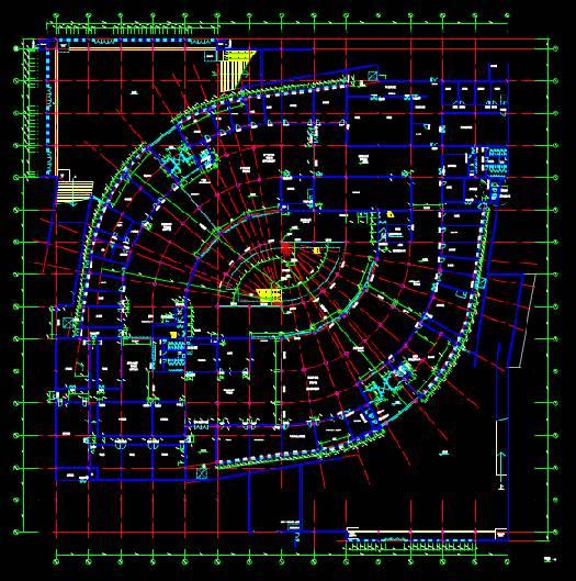 某车库CAD设计项目的建筑设计CAD图纸