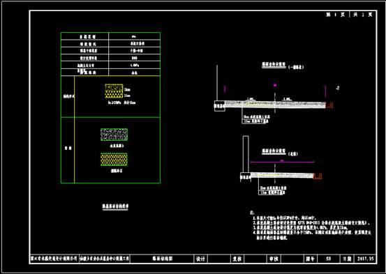 路桥设计CAD图纸之路面结构图