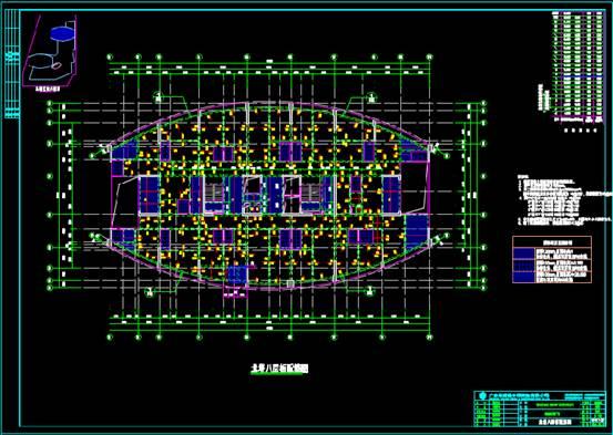 结构设计CAD图纸查看之某工程项目的设计方案
