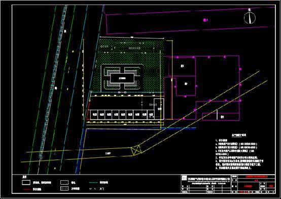 CAD下载图纸之某工厂方案设计图