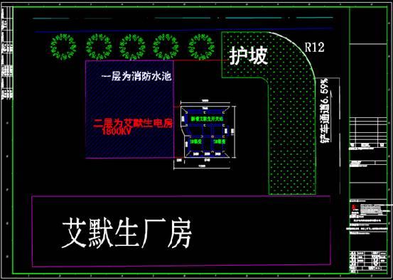 结构设计CAD图纸查看之厂房布置图的基础设计