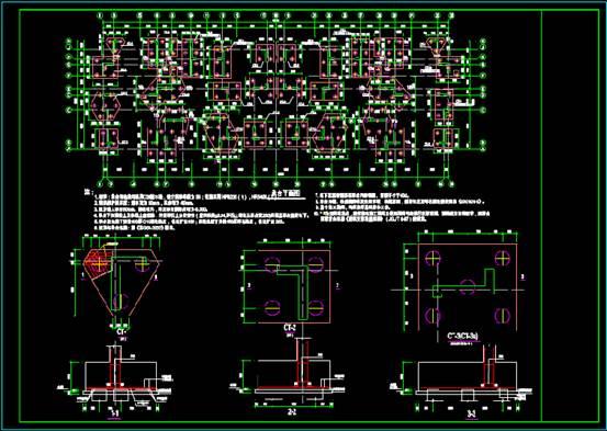 结构设计CAD图纸查看之异形构件的设计方法