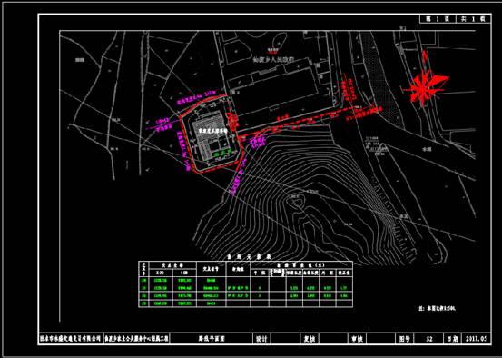 路桥设计CAD图纸之路线平面图绘制