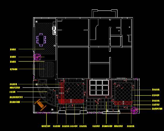 建筑CAD图纸下载之某园林平面设计图