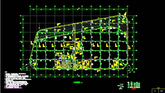 CAD结构设计图之某居民小区的CAD结构设计方案