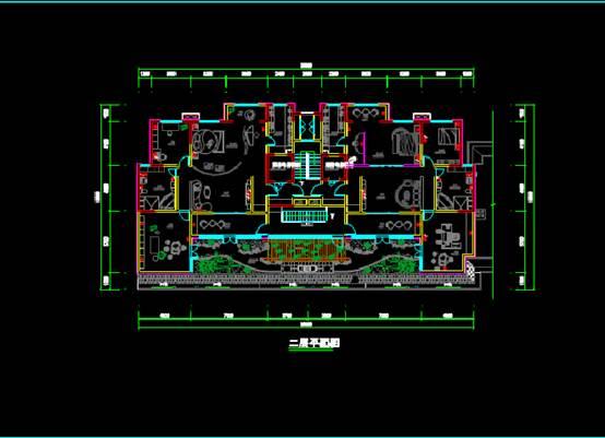 CAD图纸快速查看之电气插座平面图