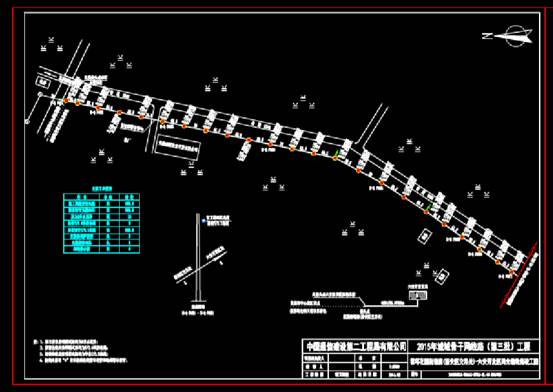 CAD图纸快速查看之市政电气设计CAD图纸