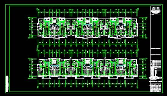建筑设计CAD图纸之配电平面图