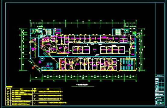 建筑设计CAD图纸之医院电气深化设计图