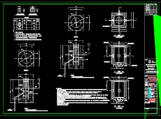 CAD图纸快速查看之工业园绿化图