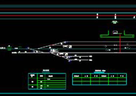 建筑设计CAD图纸之信号设备更新改造平面图