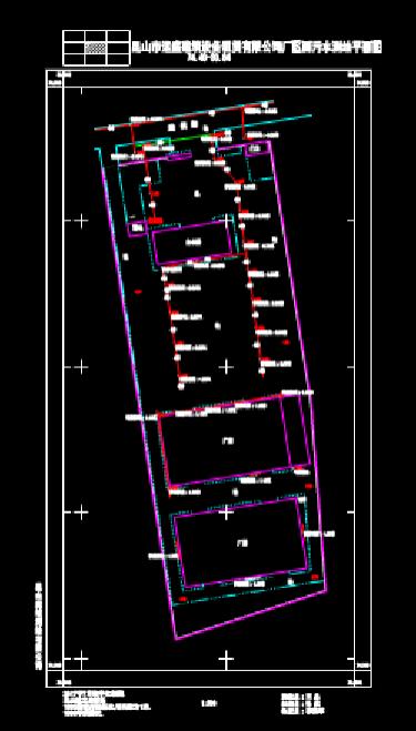 给排水CAD图纸之污水处理设计图