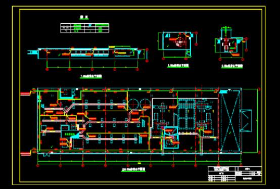 给排水CAD图纸之厂房给排水施工图