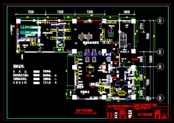 建筑设计CAD图纸之供应室改造工程设计图