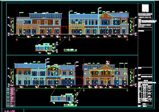 建筑CAD图纸下载之古城文旅示范区