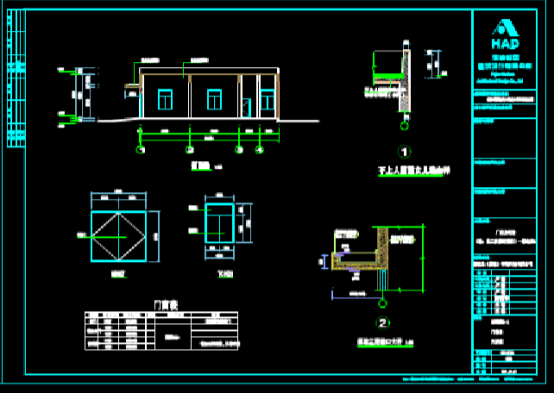 建筑CAD图纸下载之配电房CAD设计图