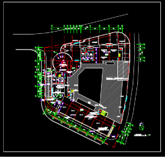 建筑CAD图纸下载之幼儿园建筑设计CAD图纸