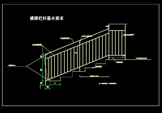 建筑CAD图纸下载之护窗栏杆及楼梯栏杆图纸