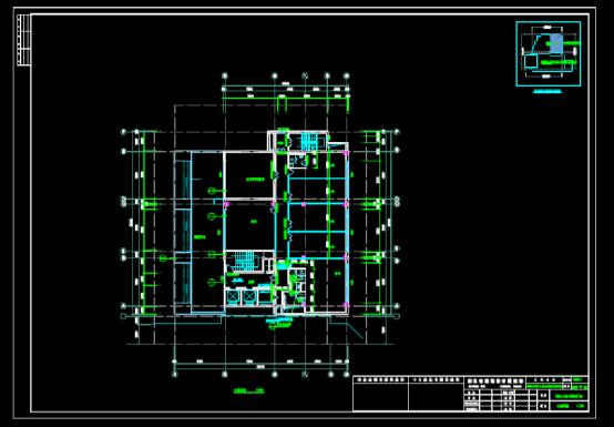 CAD快速查看建筑图之办公建筑