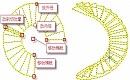 建筑CAD制图教程:CAD软件中梯段夹点怎么用?