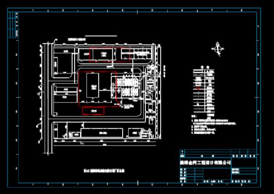 CAD快速查看建筑图之某工厂平面布置图