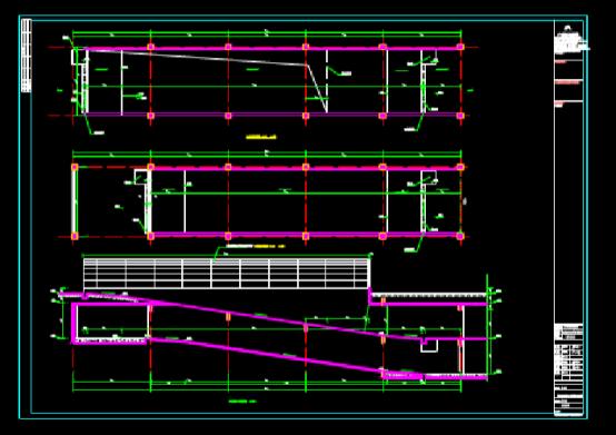 CAD快速查看建筑图之人防地下室