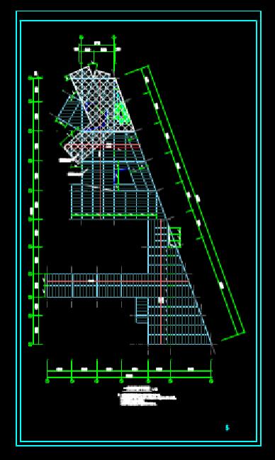 结构设计CAD图纸查看之钢结构