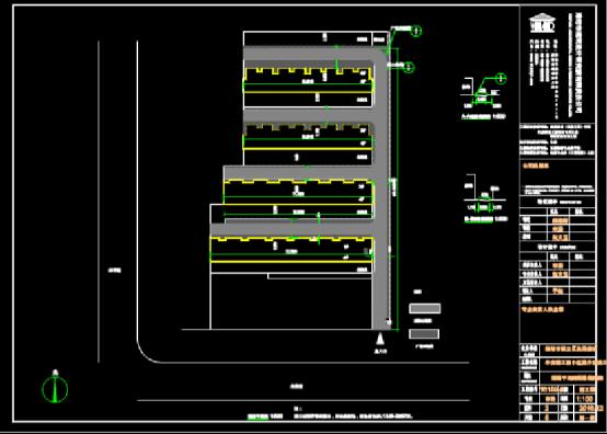 路桥设计CAD图纸之市政小区规划项目
