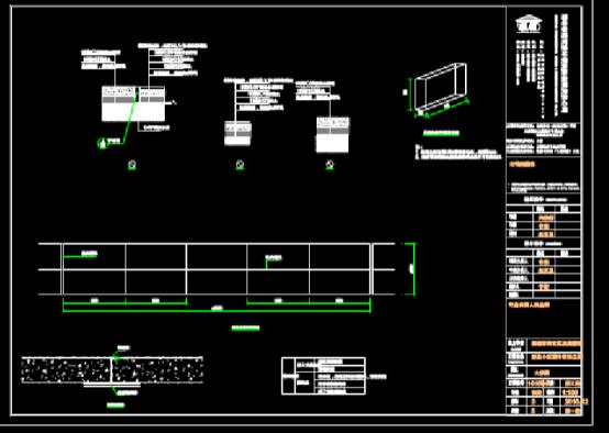 路桥设计CAD图纸之小区提升改造项目