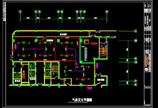 建筑CAD图纸下载之地下配电房