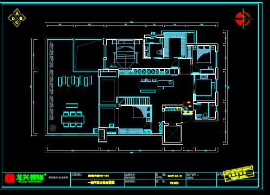 CAD装饰设计图下载之大院平面方案布置图