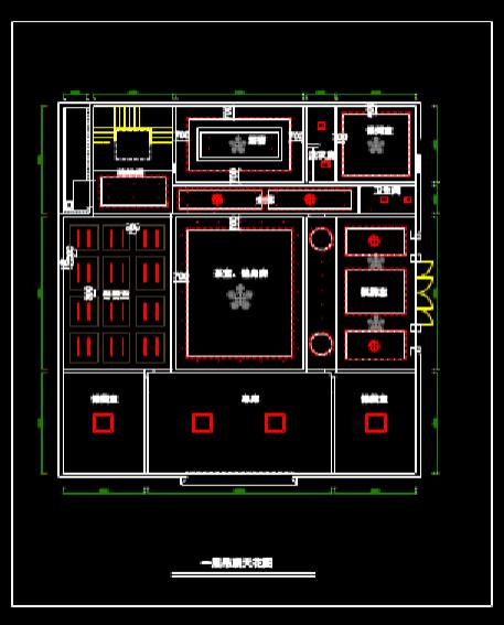 CAD装饰设计图下载之户型平面图